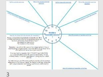 AQA 9-1 GCSE PE - Aerobic / Anaerobic Exercise, Effects Of Exercise, EPOC, Recovery Revision Clock