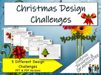 Christmas Graphic Design Challenges