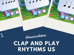 Clap And Play Rhythms Level 1 US Version