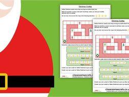 Christmas KS1 Computing Coding Activity