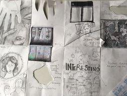 KS3, KS4 or KS5 - How to be creative? Using Keri Smith for inspiration. Make a sketchbook.