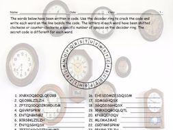 Telling Time Decoder Ring
