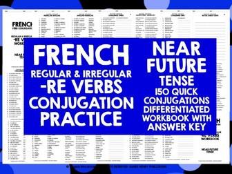FRENCH -RE VERBS NEAR FUTURE TENSE