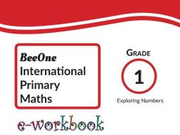 Grade 1 Math Exploring Numbers Workbook of 41 pages from BeeOne Books