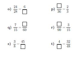 Equivalent fractions worksheet (with answers) by math_w