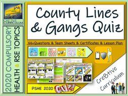 County Lines Gangs Quiz
