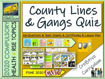 County Lines Gangs Quiz