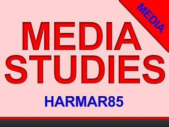 MOCK EXAM - GCSE Media Studies - AQA - PAPER TWO- NEW SPEC (2019) [SERIES C]