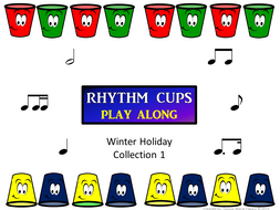 Rhythm Cups Winter Holiday