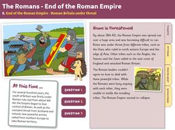 Under Threat - Interactive Teaching Book - Roman Britain KS2