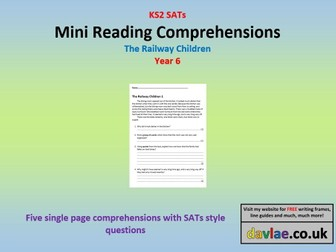 Mini Reading Comprehensions - The Railway Children