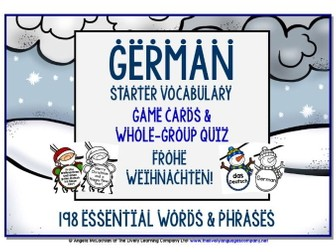 GERMAN CHRISTMAS EDITION GAMES & QUIZZES