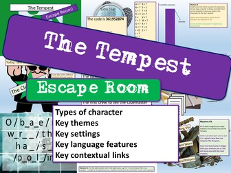 The Tempest Escape Room