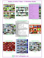 Modals of Ability 7 Game Plus 2 Worksheet Bundle
