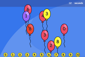 Number Matching Interactive Game - EYFS Number