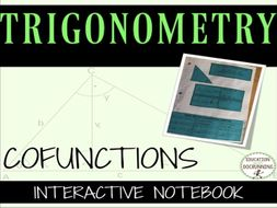 Trigonometry: Cofunctions- Notes and Practice