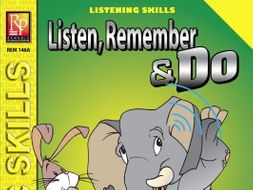 Listen, Remember, and Do (Grades 3-4)