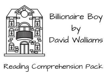 David Walliams Reading Comprehension Bundle by