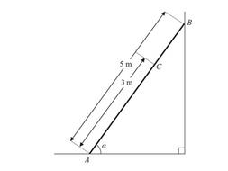 Statics of Rigid Bodies (Ladders and Drawbridges) Exam