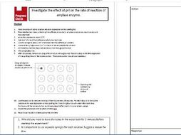 GCSE Biology required practical starters