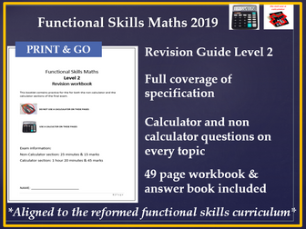 Functional Skills maths L2 Revision Guide Reformed functional Skills 2019