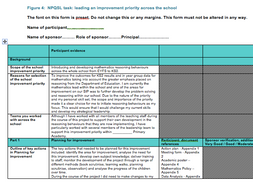 NPQSL Final Assessment - Passed