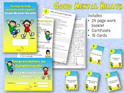 Good Mental Health Workbook