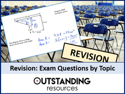 Revision: Area Exam Questions (with answers)