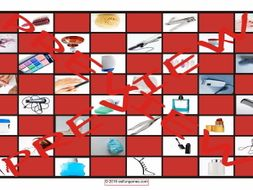 Health and Personal Hygiene Checker Board Game