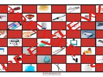 Health and Personal Hygiene Checker Board Game