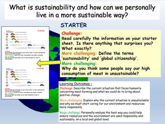 Sustainability: Global Citizenship