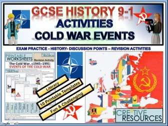 The Cold War - Writing Newspaper Articles