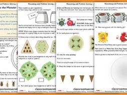 Fractions Maths Consolidation Year 1 Summer Block 2 Reasoning and Problem Solving