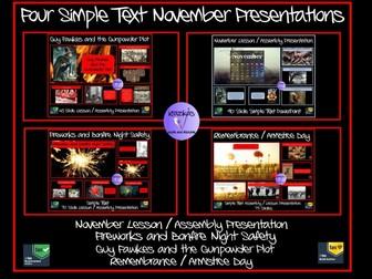 November Assemblies