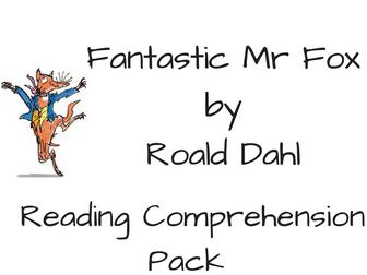 Roald Dahl Reading Comprehension Bundle by
