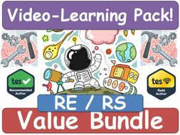 RE, Religious Education, RS, Religious Studies [Video Learning Pack] RE RS