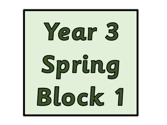 Year 3 - Spring Block 1 Multiplication and Division (Block 4)