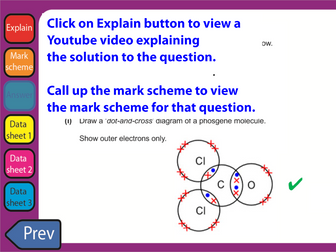 June 2018 OCR Chemistry AS Level Questions with clickable links H032/01 Breadth