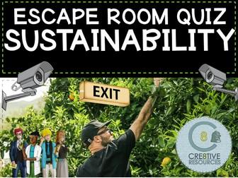Sustainability - Geography Escape Quiz