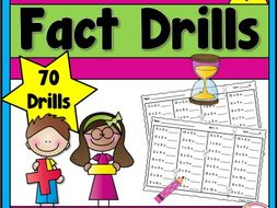 Addition and Subtraction Fact Drills