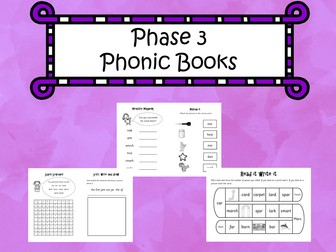 Phase 3 Phonic Books