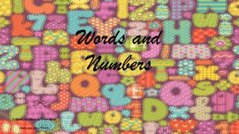 Words-and-Numbers-Lyrics.docx