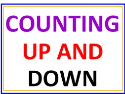 Counting Up And Down