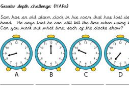 WRM Year 2 Summer block 3 Time Planning and resources