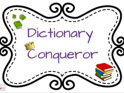 Dictionary Conqueror