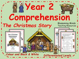 The Christmas Story - Year 2 comprehension