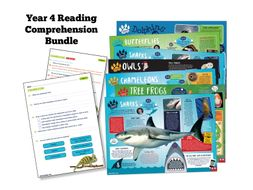 Year 4 Science Reading: Animals