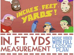 Inches, Feet, Yards Multimedia Activities