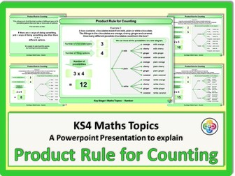 Product Rule For Counting: Maths KS4