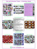 Jobs and Professions 7 Game Plus 2 Worksheet Bundle